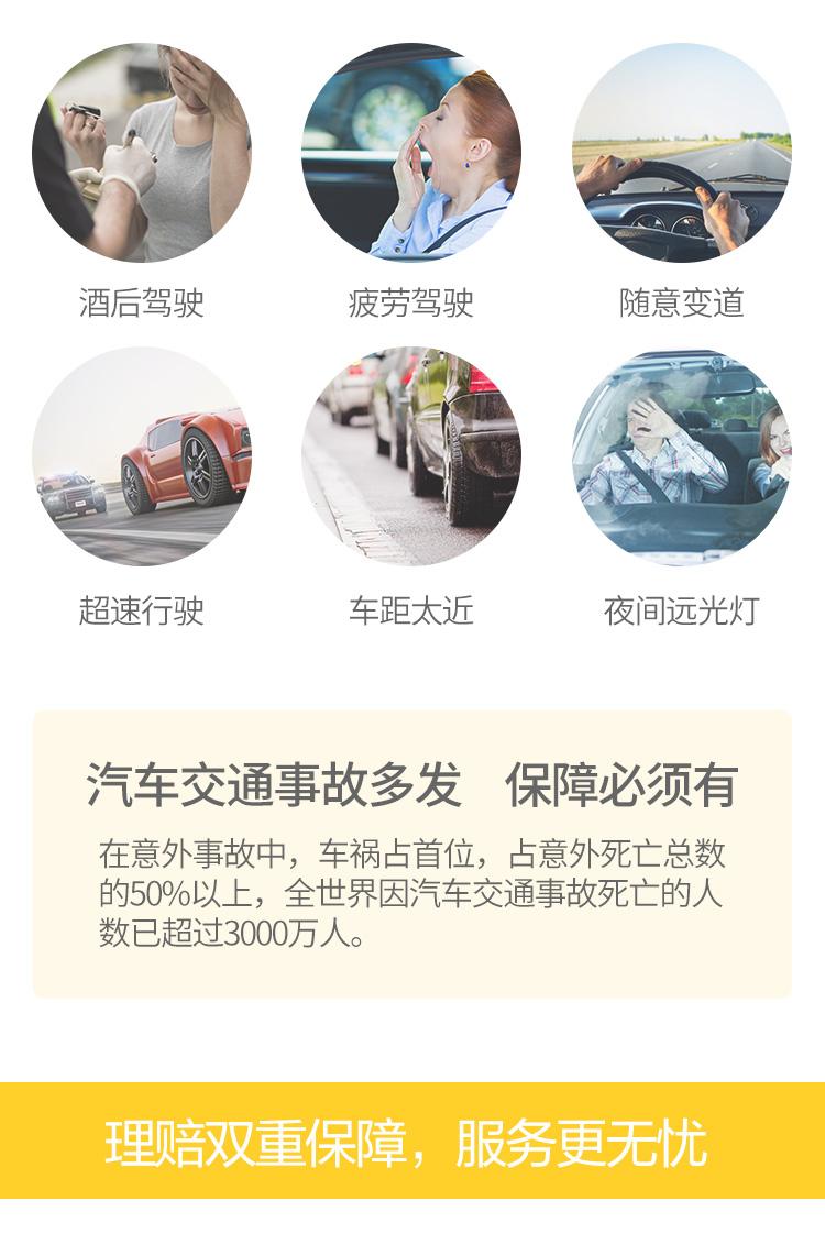全球自驾车意外伤害保险
